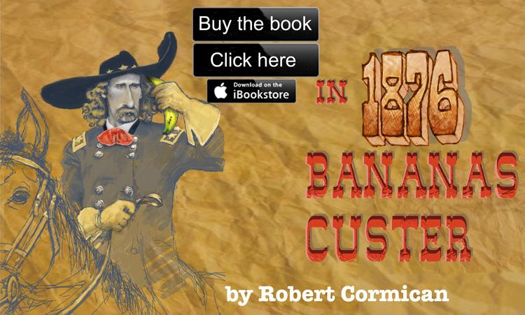 To the Apple iBookstore page for In 1876: Bananas & Custer